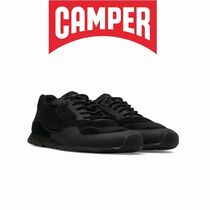 CAMPER Casual Style Blended Fabrics Street Style Plain Leather Logo