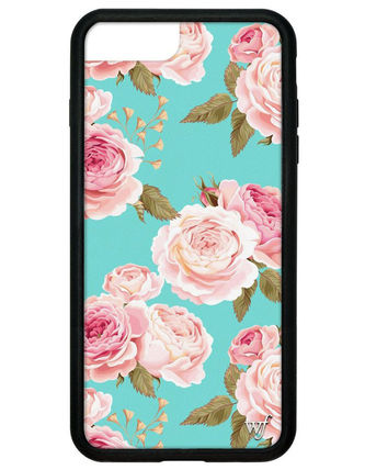 Flower Patterns iPhone 8 Plus Smart Phone Cases