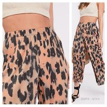 ASOS Casual Style Other Animal Patterns Culottes