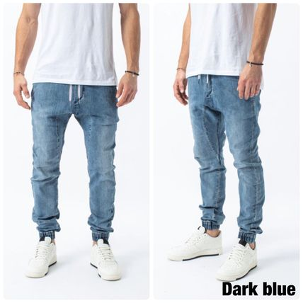 Ron Herman Denim Plain Cotton Street Style Joggers Jeans