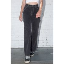 Brandy Melville Casual Style Denim Street Style Plain Long Formal Style