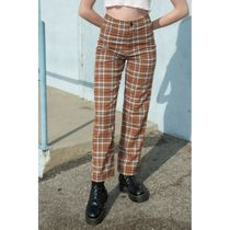 Brandy Melville Other Plaid Patterns Long Sarouel Pants