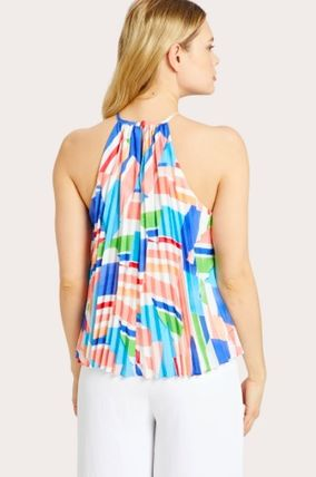 Casual Style Sleeveless Tanks & Camisoles
