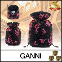 Ganni Casual Style Party Style Purses Elegant Style Bucket Bags