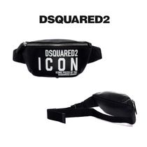 D SQUARED2 Casual Style Plain Logo Hip Packs