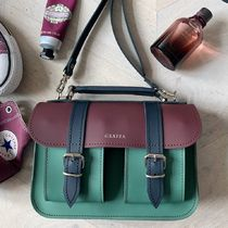 GRAFEA Casual Style 2WAY Plain Leather Crossbody Shoulder Bags