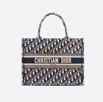 Christian Dior DIOR OBLIQUE Casual Style Office Style Elegant Style Formal Style  Logo