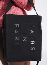 PAIRS IN PARIS Casual Style 2WAY Logo Totes
