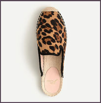 J Crew Leopard Patterns Casual Style Elegant Style Slip-On Shoes