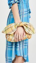 REJINA PYO Other Plaid Patterns Casual Style Clutches