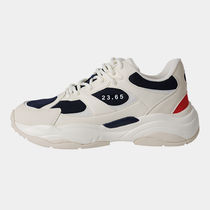 23.65 Round Toe Rubber Sole Casual Style Unisex Low-Top Sneakers