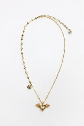 Casual Style Chain 18K Gold Necklaces & Pendants