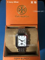 Tory Burch Casual Style Stainless Office Style Watches