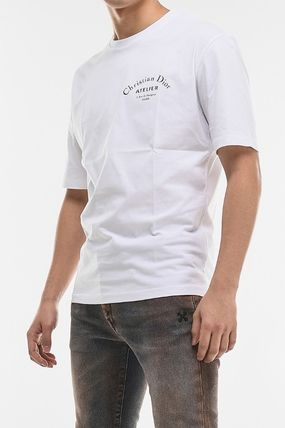 Christian Dior More T-Shirts Street Style Cotton Short Sleeves Luxury T-Shirts 2