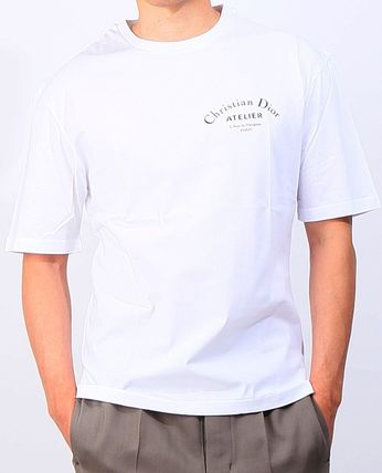 Christian Dior More T-Shirts Street Style Cotton Short Sleeves Luxury T-Shirts 7