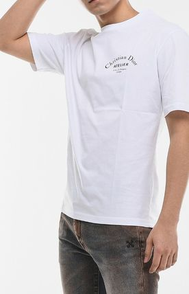 Christian Dior More T-Shirts Street Style Cotton Short Sleeves Luxury T-Shirts 9