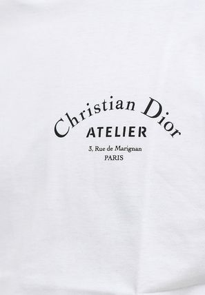Christian Dior More T-Shirts Street Style Cotton Short Sleeves Luxury T-Shirts 11