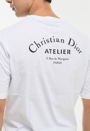 Christian Dior More T-Shirts Street Style Cotton Short Sleeves Luxury T-Shirts 12