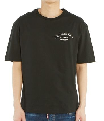 Christian Dior More T-Shirts Street Style Cotton Short Sleeves Luxury T-Shirts 14