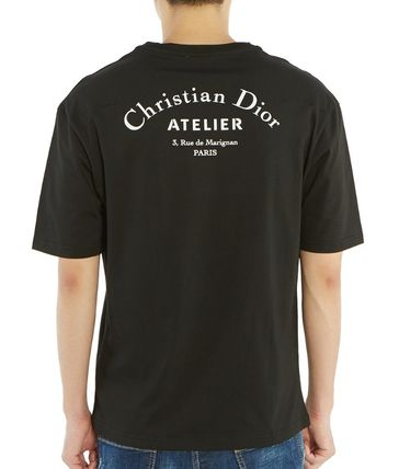Christian Dior More T-Shirts Street Style Cotton Short Sleeves Luxury T-Shirts 17