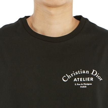 Christian Dior More T-Shirts Street Style Cotton Short Sleeves Luxury T-Shirts 19