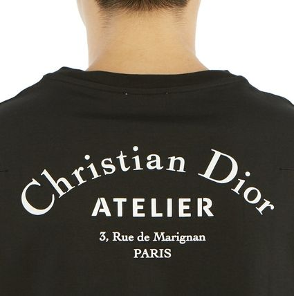 Christian Dior More T-Shirts Street Style Cotton Short Sleeves Luxury T-Shirts 20
