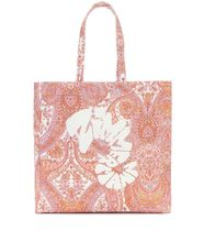Zimmermann Paisley Casual Style Canvas Logo Totes