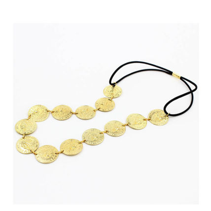Casual Style Coin Street Style Headbands