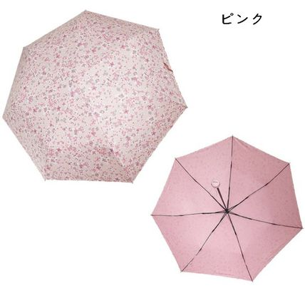 JILLSTUART Flower Patterns Logo Umbrellas & Rain Goods