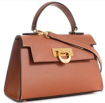 CARBOTTI Casual Style Leather Handbags