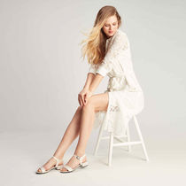 Mime et moi Open Toe Platform Casual Style Pin Heels Party Style