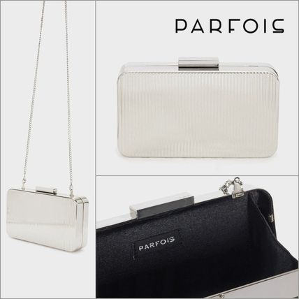 PARFOIS Chain Party Style Elegant Style Crossbody Party Bags