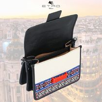 ETRO Stripes Casual Style Canvas Street Style Party Style Tribal