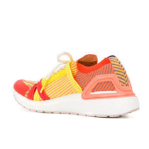 adidas by Stella McCartney Stripes Round Toe Rubber Sole Lace-up Casual Style
