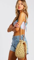 Billabong Casual Style Plain Crossbody Logo Shoulder Bags