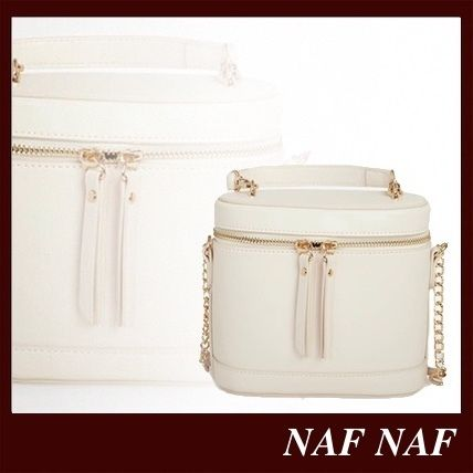 Casual Style Vanity Bags Plain Party Style Elegant Style