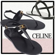 CELINE Casual Style Street Style Sandals