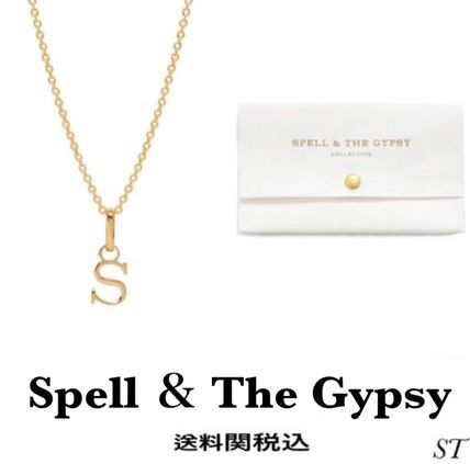 Casual Style Initial Street Style Party Style Silver