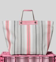 HEREU Casual Style Leather Elegant Style Totes