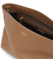 KHAITE Casual Style Bag in Bag 3WAY Plain Leather Office Style