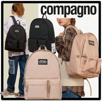 COMPAGNO Casual Style Unisex Street Style Backpacks