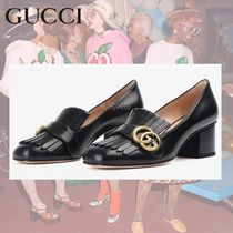 GUCCI Leather Pumps & Mules