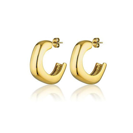 Casual Style Party Style 18K Gold Elegant Style Earrings