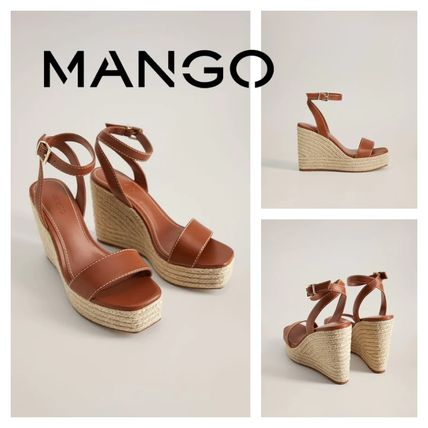 Square Toe Platform Platform & Wedge Sandals