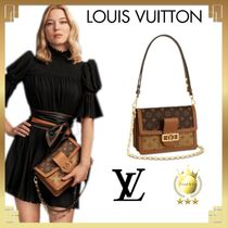 Louis Vuitton MONOGRAM Monogram Casual Style Canvas 2WAY Leather Party Style