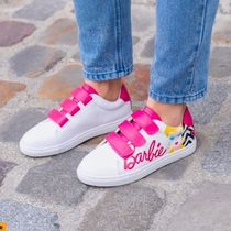Bons baisers de Paname Casual Style Street Style Leather Logo Low-Top Sneakers