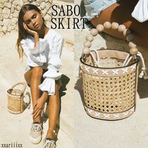 SABO SKIRT Bag in Bag Vanity Bags Plain Purses Bucket Bags