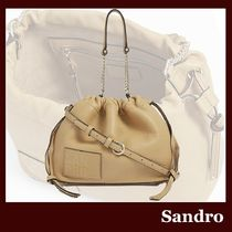 sandro Casual Style Elegant Style Formal Style  Shoulder Bags