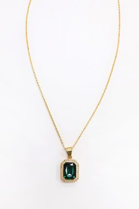 Casual Style Chain Brass Elegant Style Necklaces & Pendants