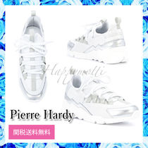 Pierre Hardy Casual Style Plain Leather Low-Top Sneakers